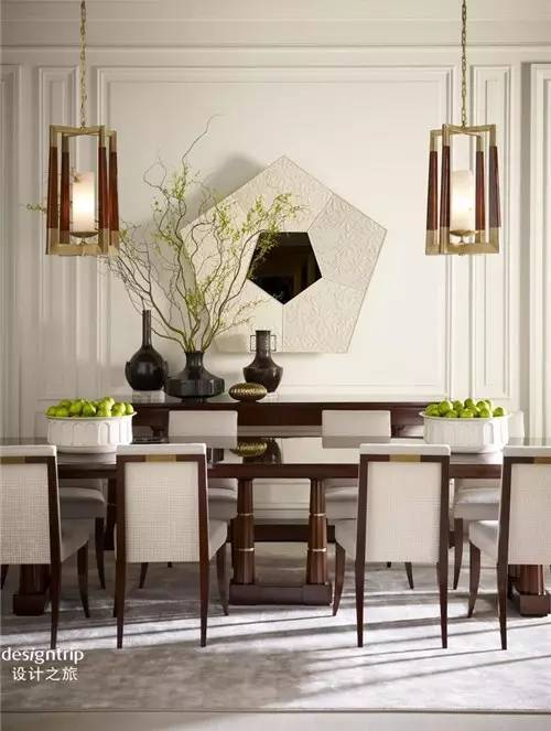 家居餐厅软装设计要点_8