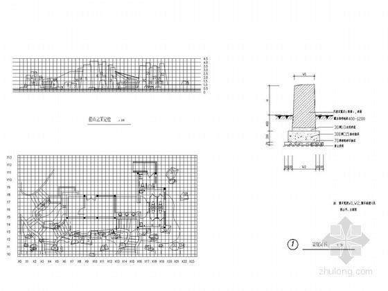 假山节点设计施工图