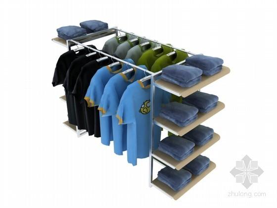 服装中岛3D模型下载