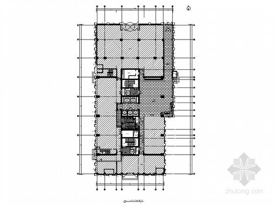 [包头]全资附属投资银行机构现代商务写字楼公共空间室内装修图(含效果)