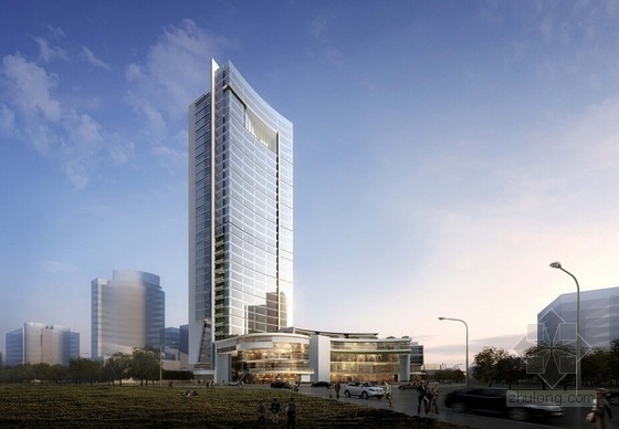 [湖北]超高层建工科技办公大楼建筑设计方案文本