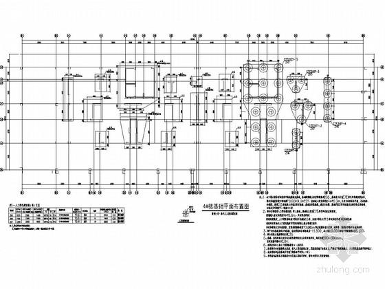 [福建]28万平13栋大型住宅小区结构施工图