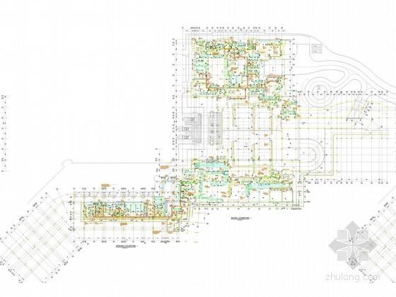 [海南]大型度假酒店空调通风及防排烟系统设计施工图