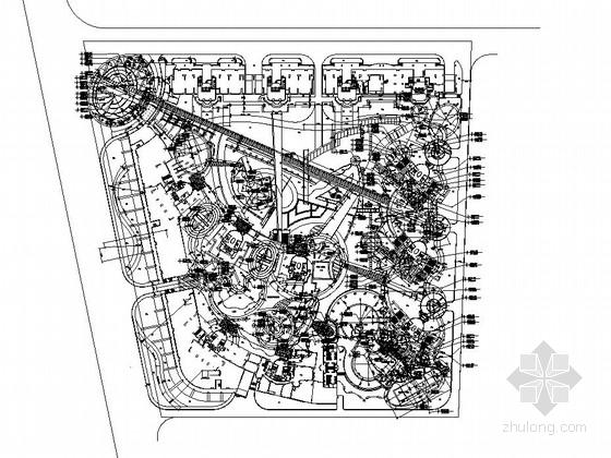 [东莞]花园小区园林景观工程施工图