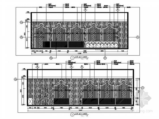 [广州]时尚动感前卫健身俱乐部室内施工图(含效果图)-[广州]时尚动感前卫健身俱乐部室内施工图立面图