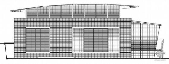 [重庆]某八层会议展览中心建筑结构暖通动力强弱电扩初图