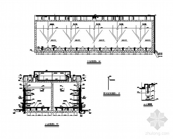 uasb详图资料下载-安徽某工程UASB池图纸