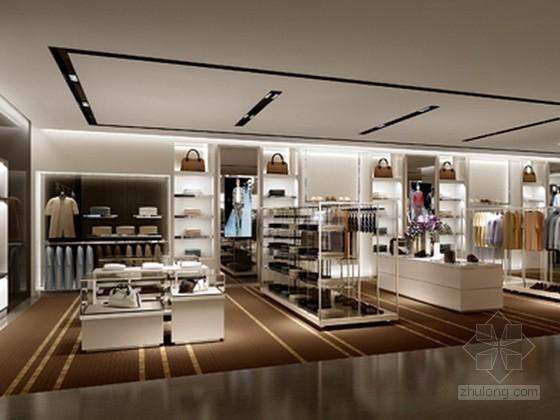 商场服装专卖店3d模型下载