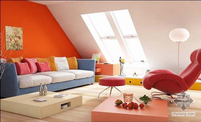 阁楼式客厅空间