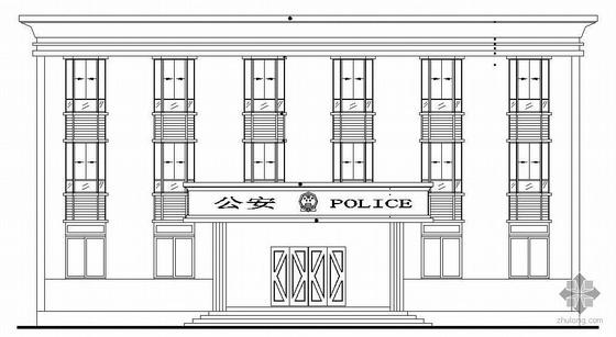 [广东]某三层派出所建筑结构施工图