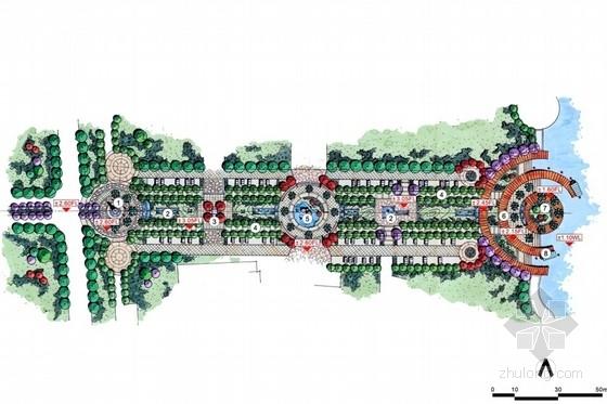 [苏州]商业街景观设计方案(手绘)