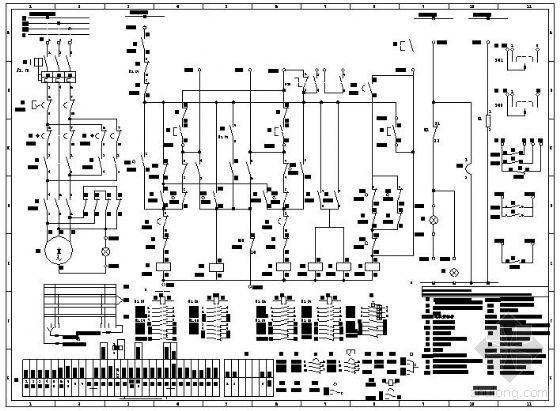 有载调压开关电动操作机构原理图