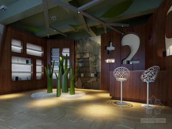 现代化妆品店3D模型下载