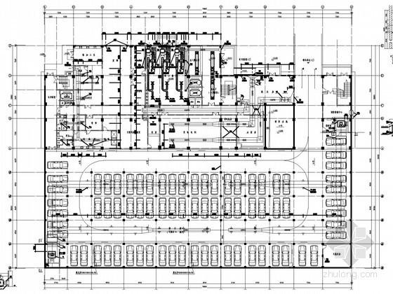 UPS系统设计资料下载-[湖北]多层门诊住院楼空调通风及防排烟系统设计施工图(大院出品)