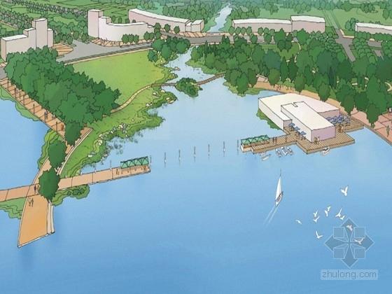 [江苏]都市新城道路景观概念设计方案