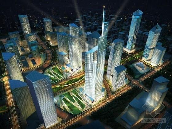 [北京]商务区规划及单体设计方案文本(知名建筑设计)
