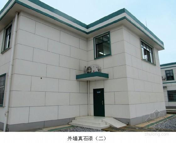 外墙真石漆施工工艺标准及施工要点