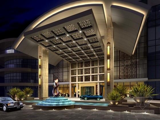 [成都]民族本土品牌时尚大酒店室内设计方案