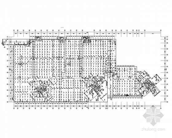 [湖南]高档住宅区建筑给排水施工图纸(人防、商业)