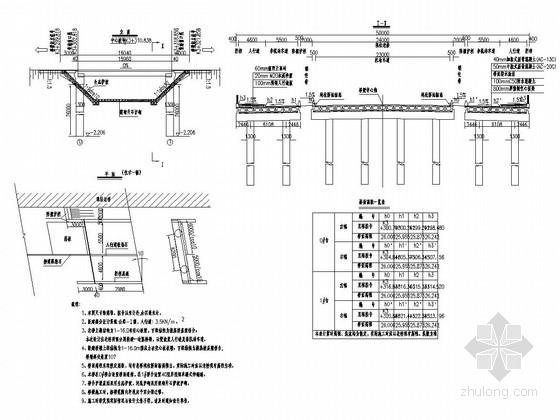 1x16m简支空心板桥全套施工图(32张)