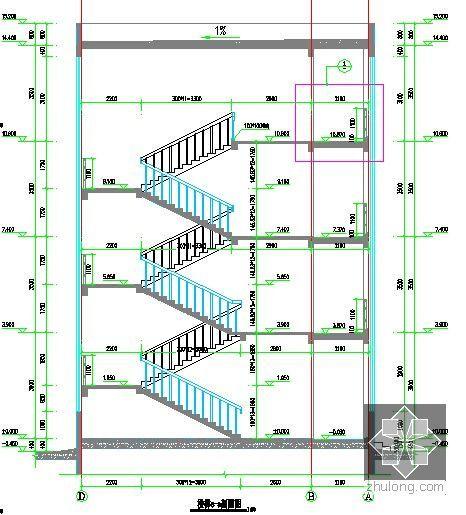 楼梯剖面图