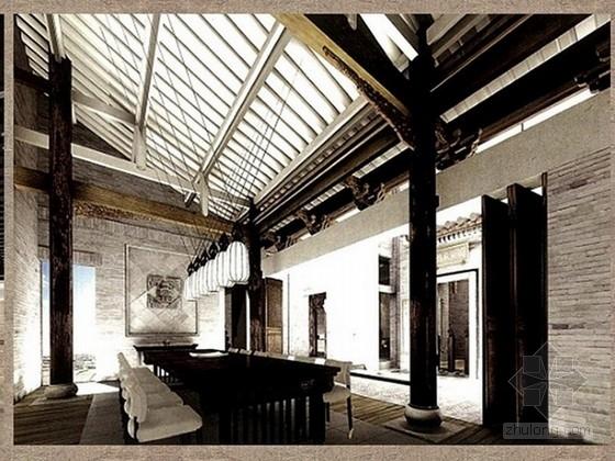 [名师]北京某休闲会所室内设计概念方案