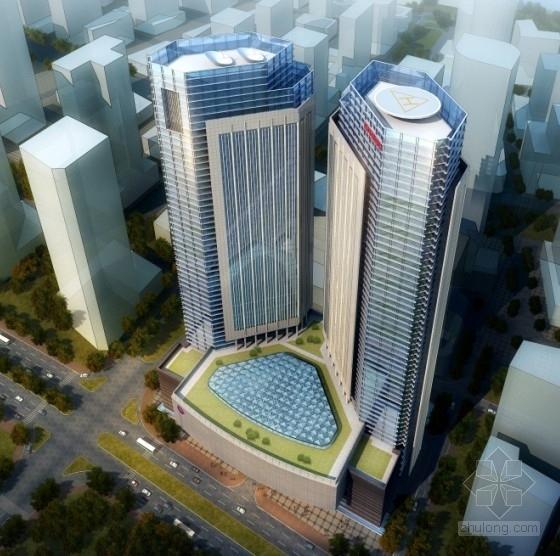 [深圳]某46层企业办公楼建筑方案文本(含多媒体)