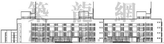 某小学教学楼建筑设计方案及竣工照片