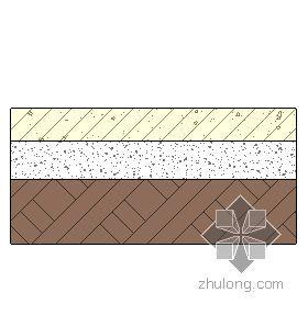 混凝土地面-彩色混凝土面层 120mm