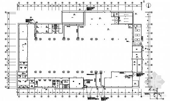某厂房空调图纸资料下载-上海某厂房空调图纸