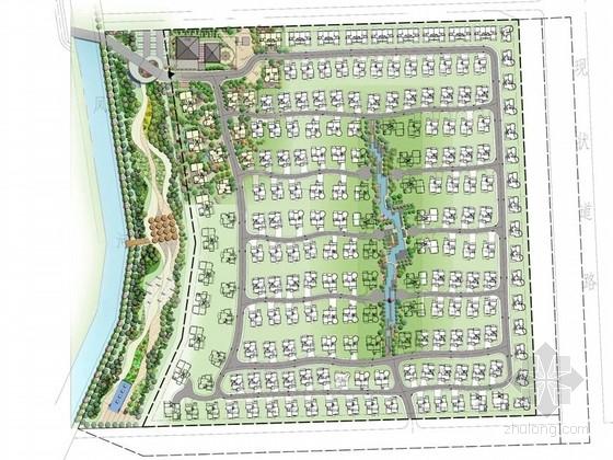 [北京]别墅区及会所庭院环境景观设计方案