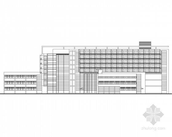 某大学国际交流会展中心建筑方案图