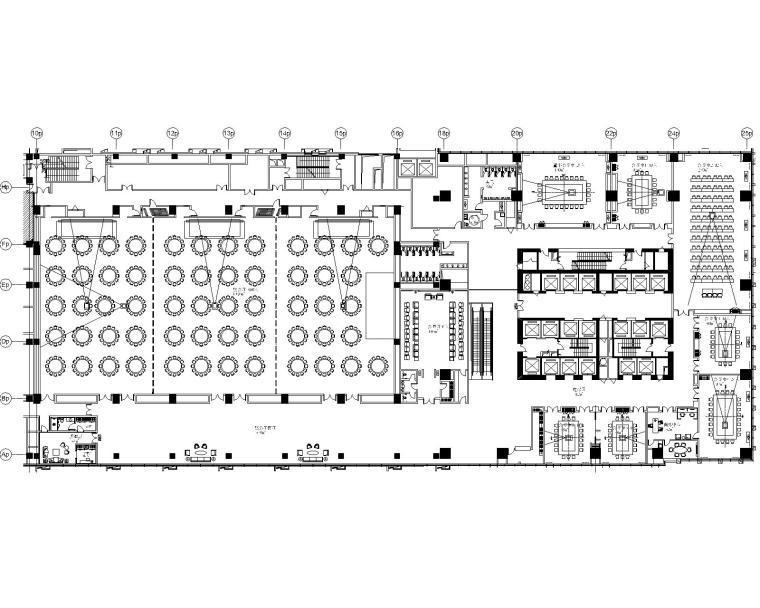 [河南]万达设计院-郑州万达文华酒店室内装修全套施工图+物料书+官方摄影