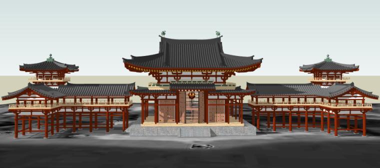 162个[日本古建]SU模型推荐收藏!