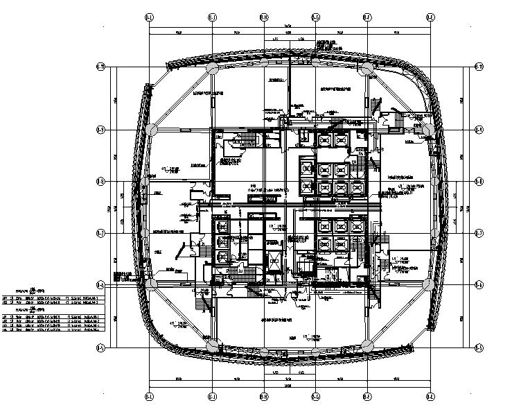 超高层商业综合体施工图纸_建筑结构暖电