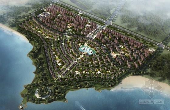 [合集]4套知名地产综合性小镇建筑设计方案文本