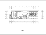 长46.95米宽11.5米西餐厅设计装修施工图