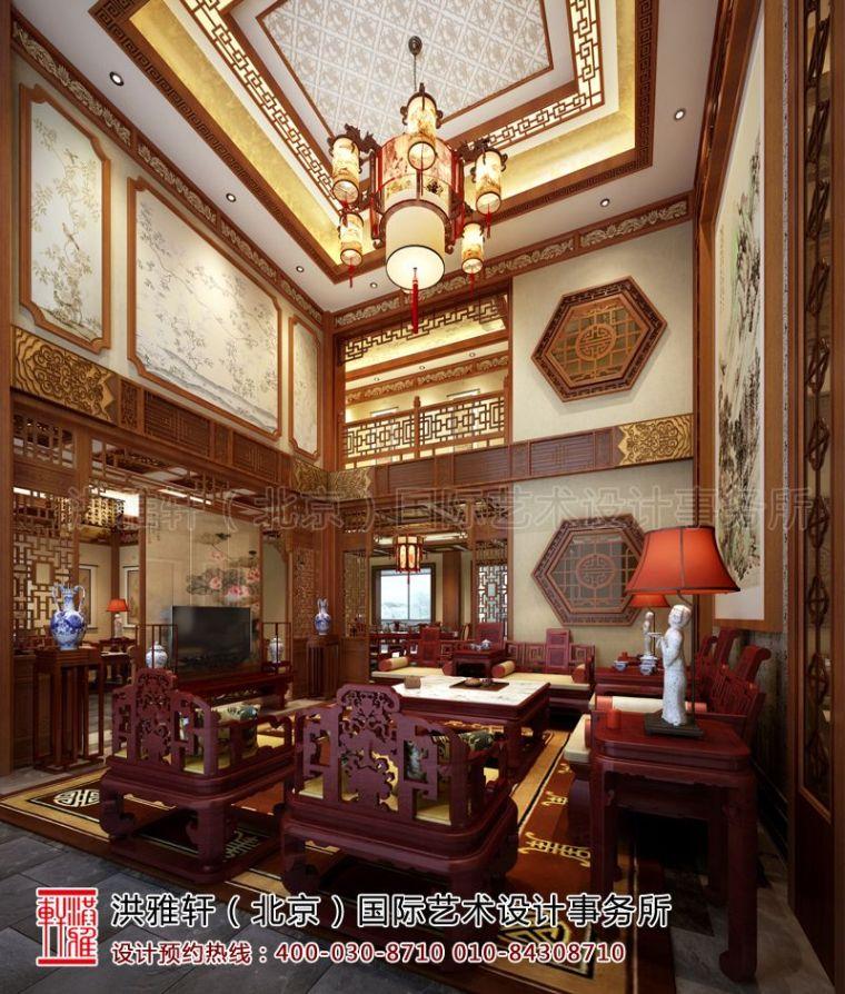 滁州古典中式别墅设计 内敛灵秀彰显富贵雅韵