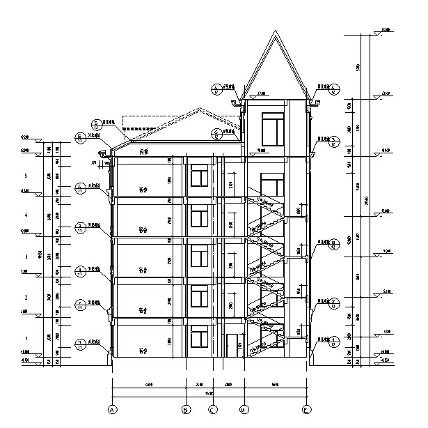 某宿舍楼施工组织设计_2
