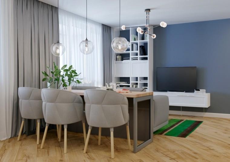 俄罗斯33m²北欧风单身公寓
