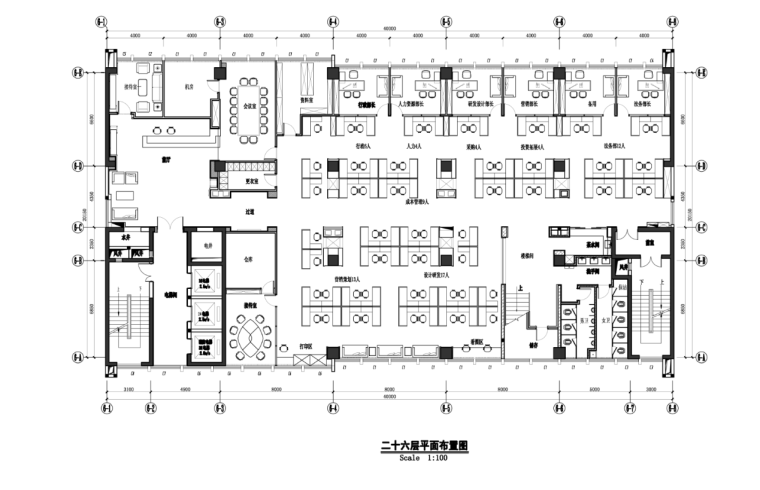 某现代风格办公楼施工图及效果图(含117张图纸)
