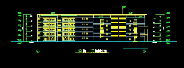 小学建筑设计单体施工图