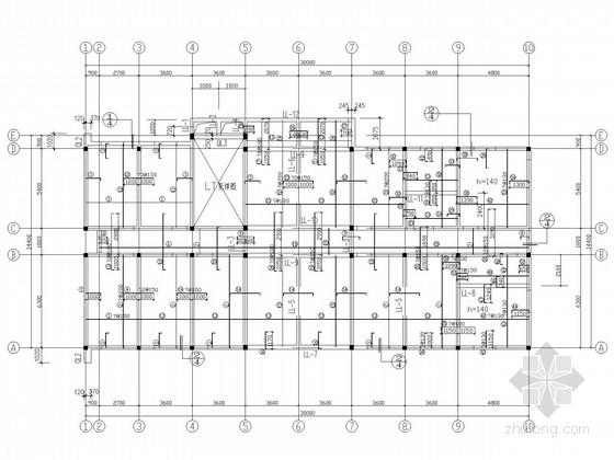 三层砖混办公楼结构施工图