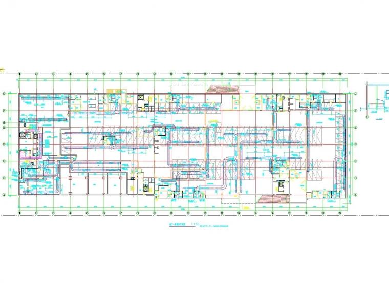 [广东]高层科研办公建筑空调通风及防排烟系统(制冷机房)