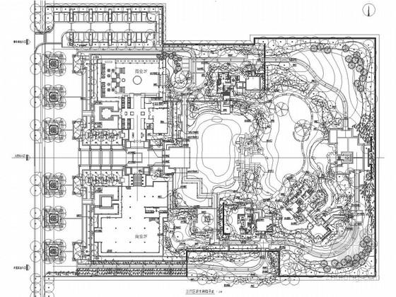 [西安]城市商务中心环境景观设计施工图
