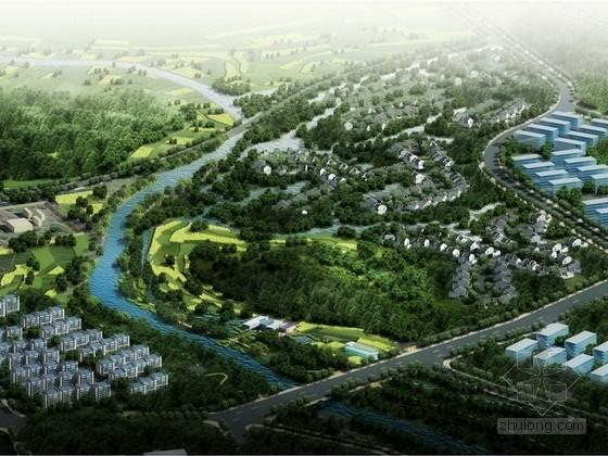 [昆明]河水综合治理工程机沿岸景观建筑形态规划设计方案(北京著名景观公司)