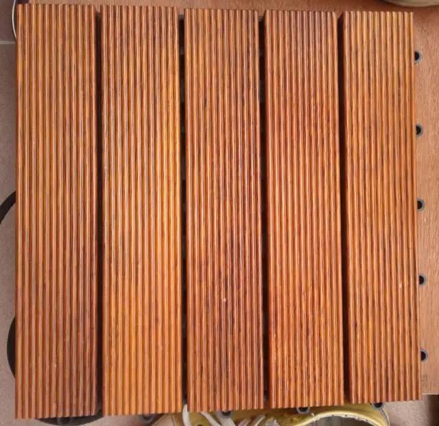 景观设计中常用的几种防腐木