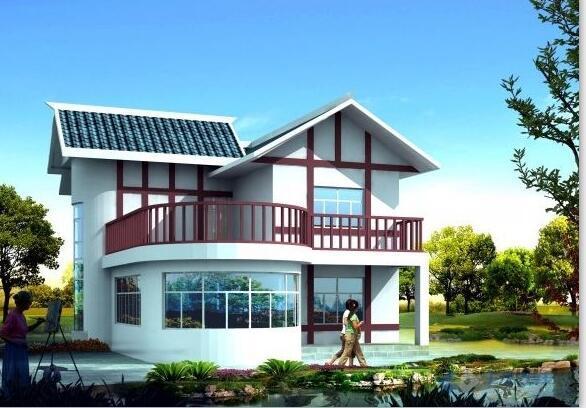 二层现代简约风格建筑别墅设计文本(包含效果图+)