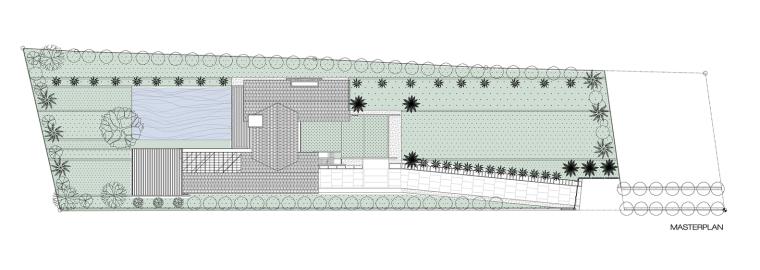 泰国现代田园式住宅平面图 (36)