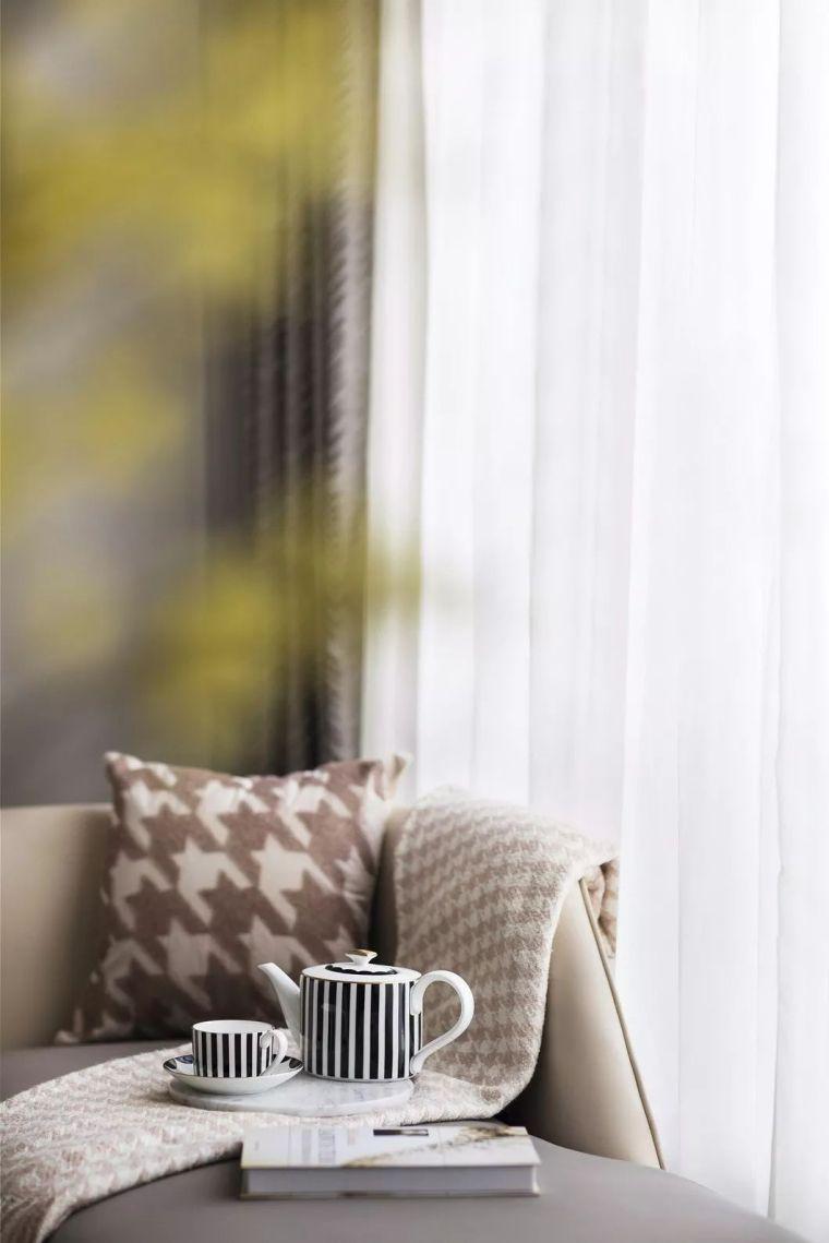 240㎡珍稀优雅豪宅软装设计,创造引领新都市的优质生活空间!_19